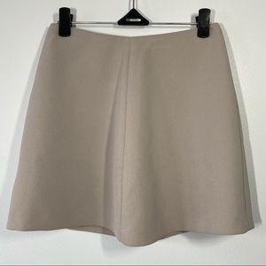 Aritzia Wilfred Grey Mini Skirt size 00